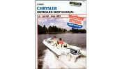 Clymer Marine Repair Manual Mercury Sport Jet 90-120HP 1993-1995