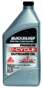 Quicksilver 2 Stroke Prem O/B Oil 32 oz.