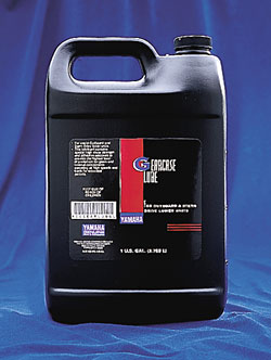 Marine Gearcase Lube Gallon Bottle