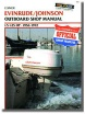 Clymer Marine Repair Manual Evenrude/Johnson 1.5-125HP Outboards, 1956-1972