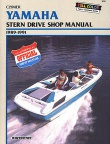 Clymer Marine Repair Manual Yamaha Stern Drives 1989-1991
