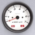 Analog Tachometer White